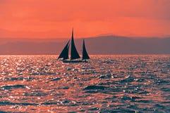 Samotny żeglarz Obraz Stock