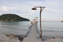 samotny morza Zdjęcie Stock