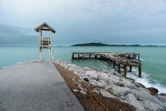 samotny morza Fotografia Royalty Free