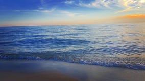 Samotny morze Zdjęcie Royalty Free