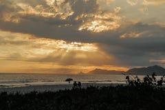 samotny słońca Obrazy Stock