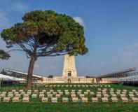 Samotny Sosnowy pomnik, Gallipoli Zdjęcia Royalty Free