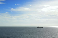 samotny statek Zdjęcie Royalty Free