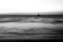samotny statek Obrazy Royalty Free