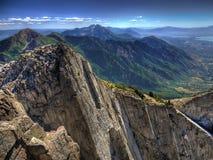 samotny szczytowy szczyt Zdjęcia Royalty Free