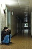 samotny zmrok zdjęcie stock