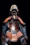 samouraï d'armure image stock