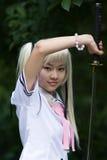 samouraï de fille images stock