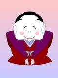 samouraï japonais de dessin animé illustration de vecteur