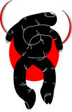 samouraïs illustration stock