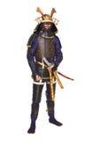 Samouraïs dans l'armure Image libre de droits