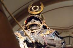 Samouraïs dans l'armure Photos stock