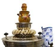Samovar do russo Foto de Stock Royalty Free
