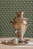 Samovar do vintage foto de stock royalty free