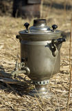 Samovar. Of the field kitchen Royalty Free Stock Photography