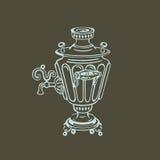 samovar Ilustración del vector Fotografía de archivo libre de regalías