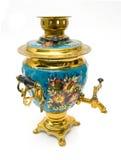 Samovar - old russian teapot Stock Photo