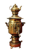 Samovar, old traditional russian kettle Stock Photography
