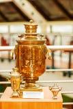Samovar - pris av årlig schackturnering Royaltyfri Foto
