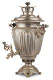 Samovar russe de thé de vintage Photo stock