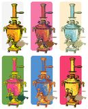 Samovars   Imagens de Stock Royalty Free