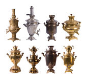 Samovars Royalty Free Stock Photos