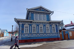 Samowar-Museum Gorodets Nischni Nowgorod Region Russland Stockbilder