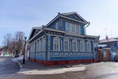 Samowar-Museum Gorodets Nischni Nowgorod Region Russland Lizenzfreies Stockbild