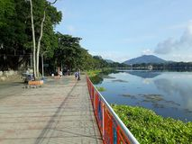 Sampaloc Lake royalty free stock photo