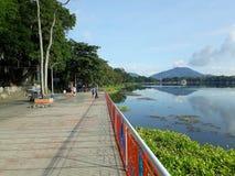 Sampaloc sjö royaltyfri foto