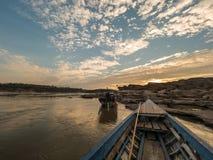Sampan-bok在Ubonratchathani,泰国大峡谷 库存图片