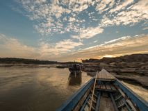 Sampan-bok in Ubonratchathani, Thailand Grand Canyon stockbilder