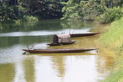 Sampan Royalty Free Stock Images