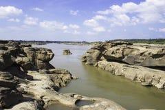 Sampanbok湄公河 图库摄影