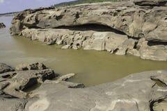 Sampanbok湄公河 免版税库存照片