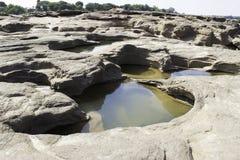 Sampanbok湄公河 免版税图库摄影
