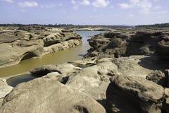 Sampanbok湄公河 库存照片
