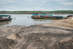 Sampanbok自然石公园 免版税库存图片