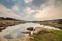 sampanbok湖  图库摄影