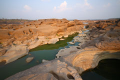 Sampanbok, canyon grand de la Thaïlande Images libres de droits