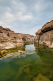 Sampanbok del pensamiento del río de Kong Fotografía de archivo libre de regalías