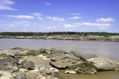 Sampanbok Mekong rzeka Zdjęcia Stock