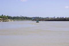 Sampanbok Mekong rzeka Obraz Stock