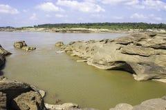 Sampanbok Mekong rzeka Zdjęcie Stock