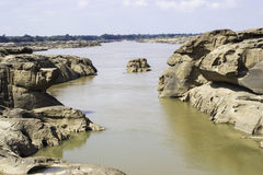 Sampanbok Mekong rzeka Obrazy Stock