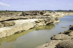 Sampanbok Mekong rzeka Fotografia Royalty Free