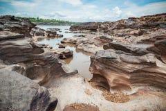 Sampanbok naturlig sten Arkivbild