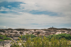 Sampanbok parkerar den naturliga stenen Fotografering för Bildbyråer