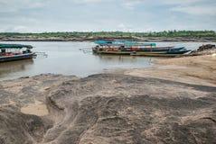 Sampanbok parkerar den naturliga stenen Royaltyfri Bild