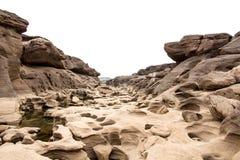 Sampanbok Ubonratchathani - Grandcanyon of Thailand. Stock Images